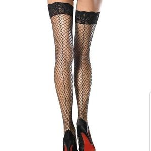 Stay Up Lace Top Thigh Highs